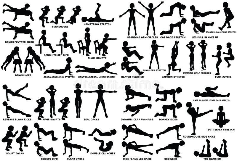Leg Push Ups Stock Illustrations – 52 Leg Push Ups Stock