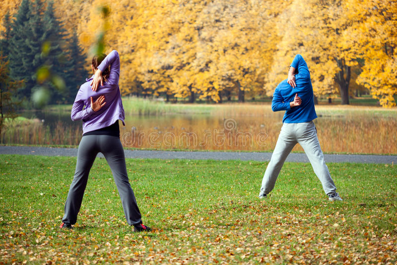 Sport extérieur photo libre de droits