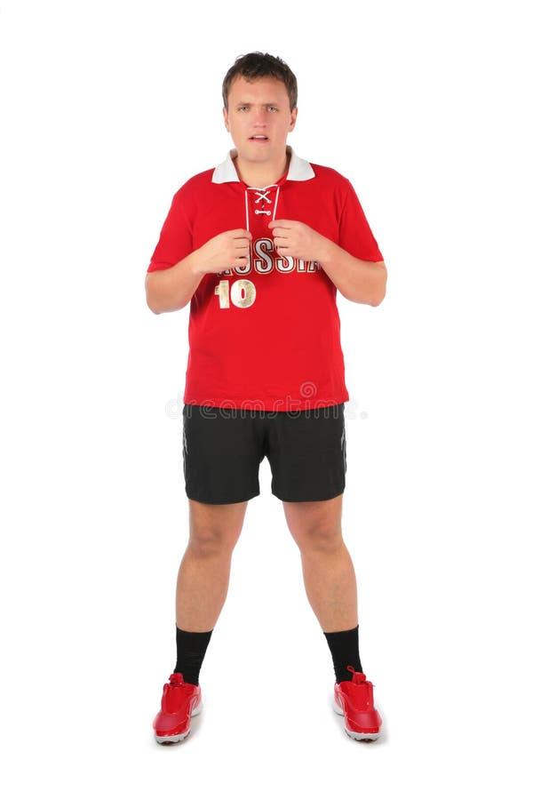 Sport fan man