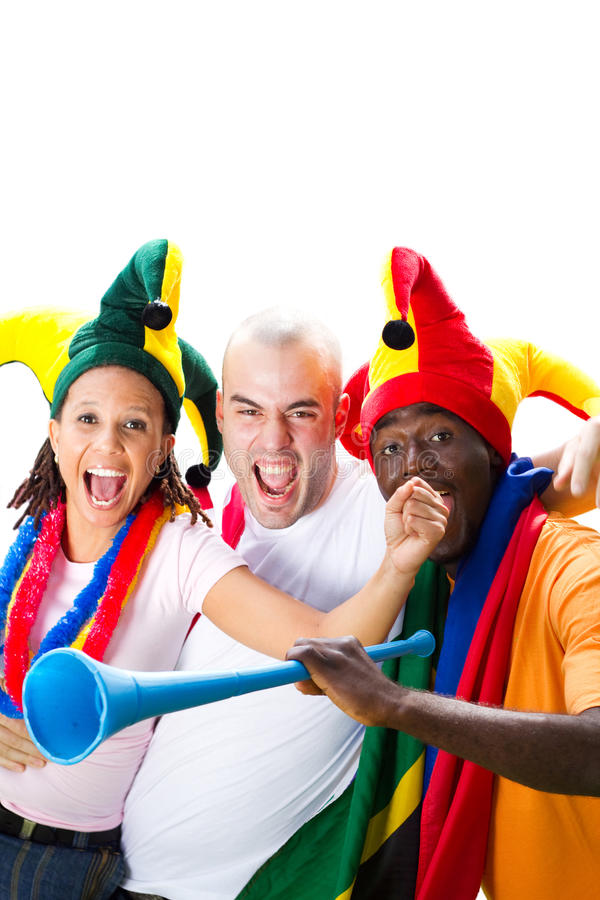 Download Sport fans stock photo. Image of male, friendly, flag - 13764134