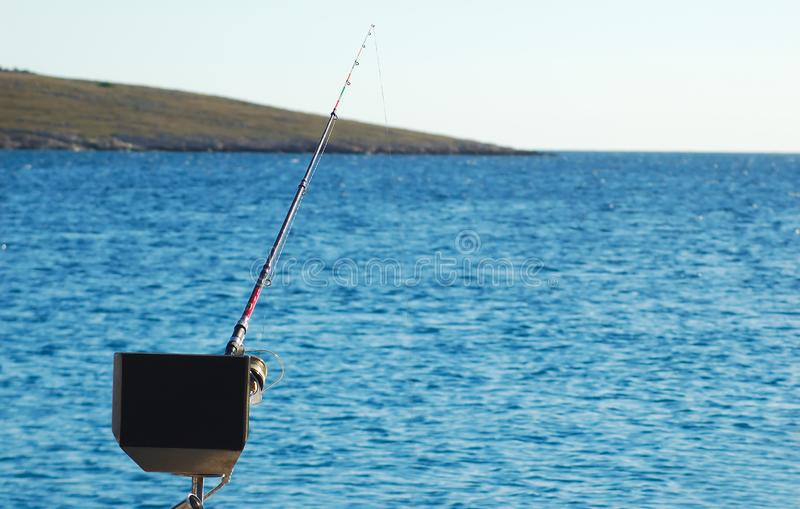 Sport Fishing Boat for big game fishing stock photography