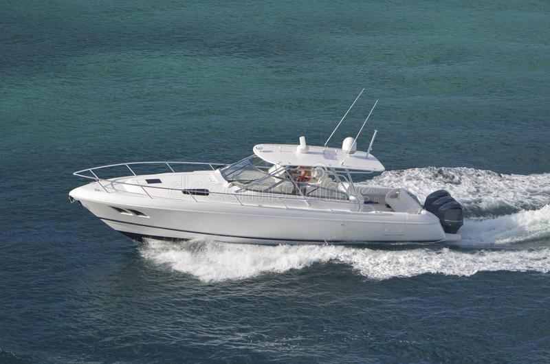Download Sport Fishing Boat Stock Image Of Engines