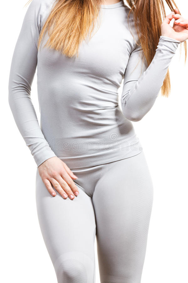 Download Sport Fit Woman In Thermal Clothes. Stock Photo - Image: 83712368
