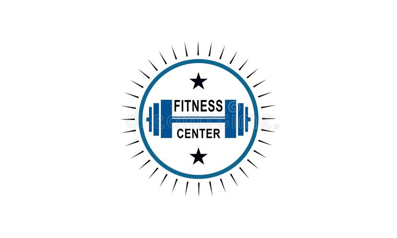 Sport Fitness club creative concepts. Gym club logotype. Vector stock illustration