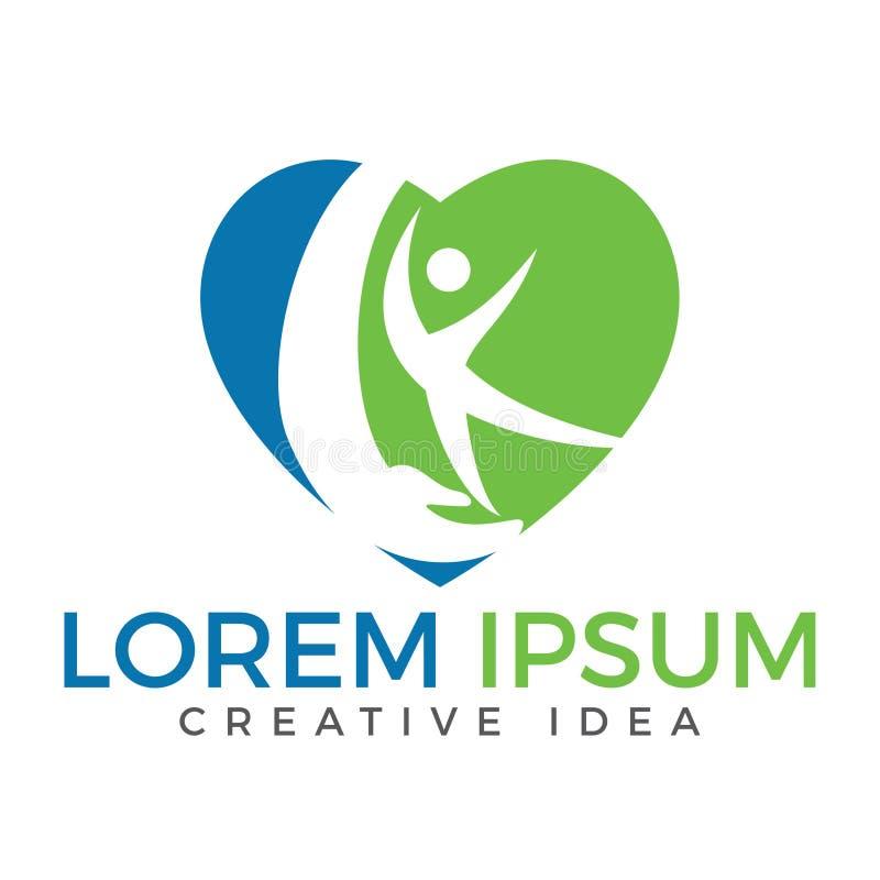 sport fitness medical or health care center logo design concept rh dreamstime com health and wellness design health and wellness design awards