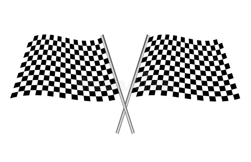 Download Sport flag stock vector. Image of sport, checkerboard - 14321626