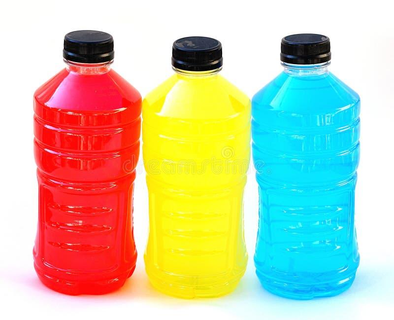 Sport-Getränke stockbild. Bild von drei, anstürme, medizinisch ...
