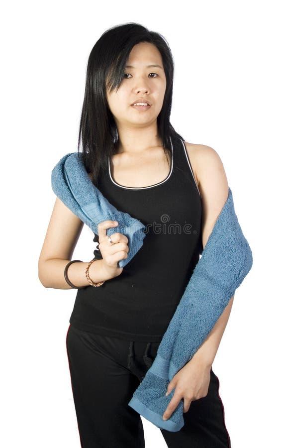 Sport Girl-1 Stock Photography