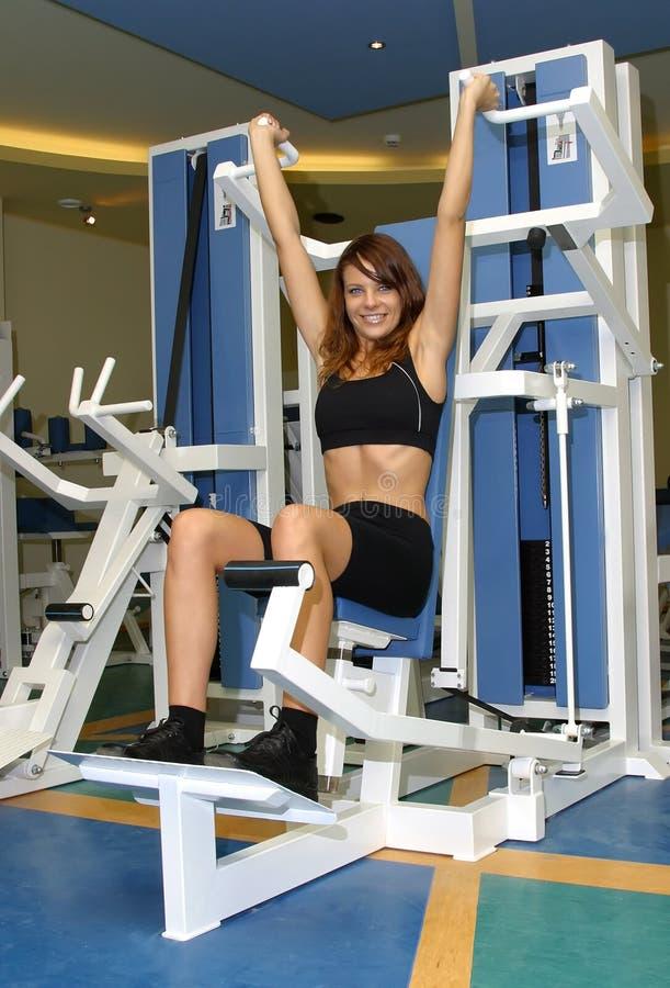 Sport, girl royalty free stock photos