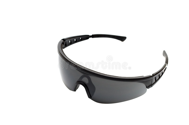 Download Sport Glasses Isolated On White Stock Image - Image: 5546215