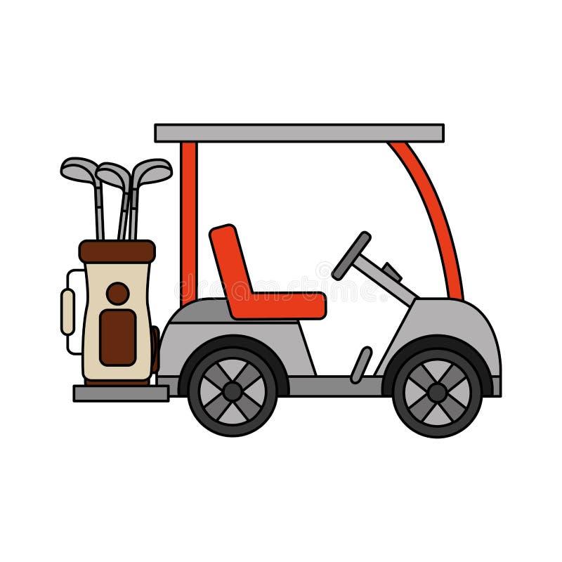 Sport golfowa aktywno?? ilustracji
