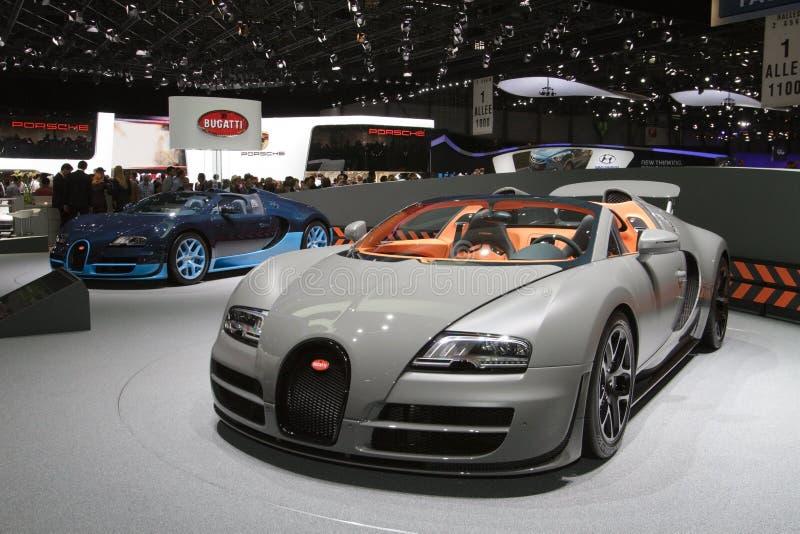 Sport grand Vitesse de Bugatti Veyron 16.4 image libre de droits