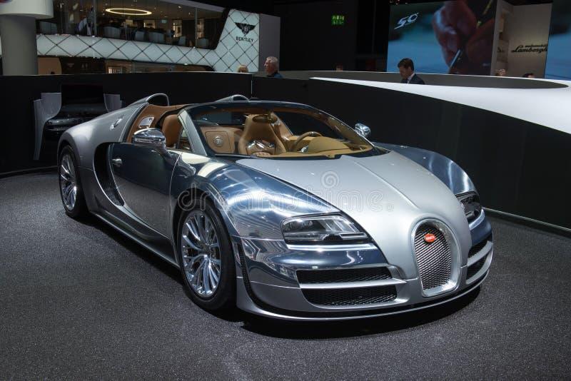 Sport grand Vitesse «Jean Bugatti» de Bugatti Veyron 16,4 images stock