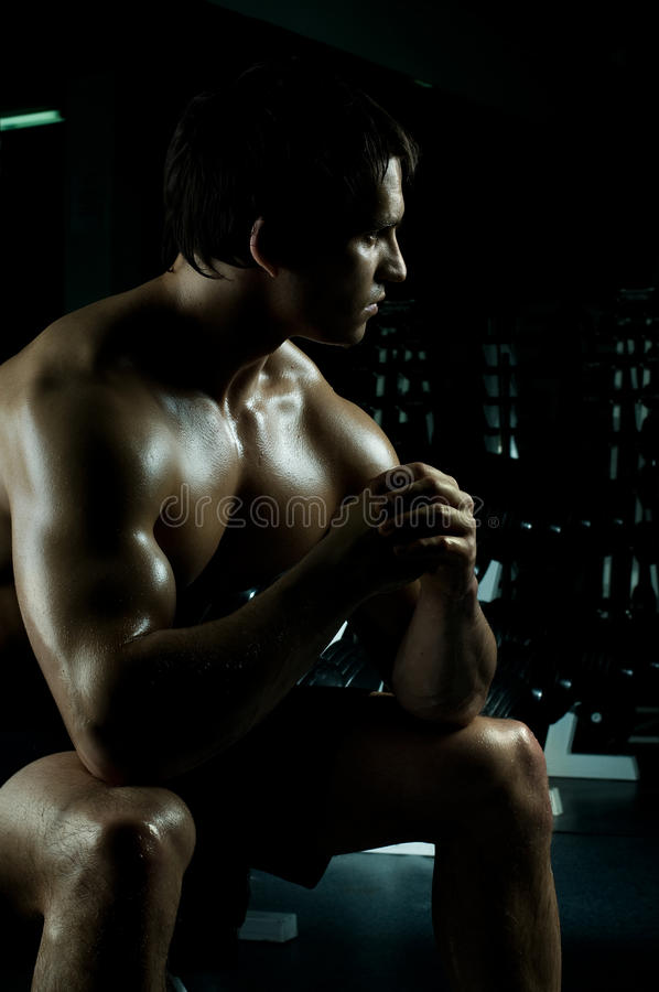 Download Sport guy stock photo. Image of relaxation, pretty, photo - 19166518