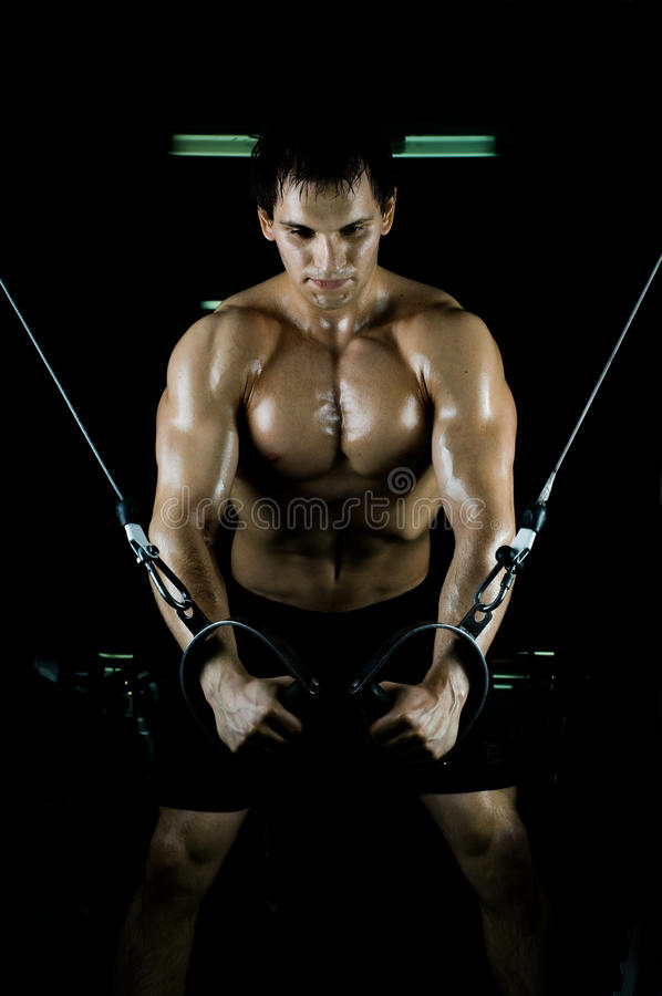 Download Sport guy stock photo. Image of athlete, concept, exercising - 19166618