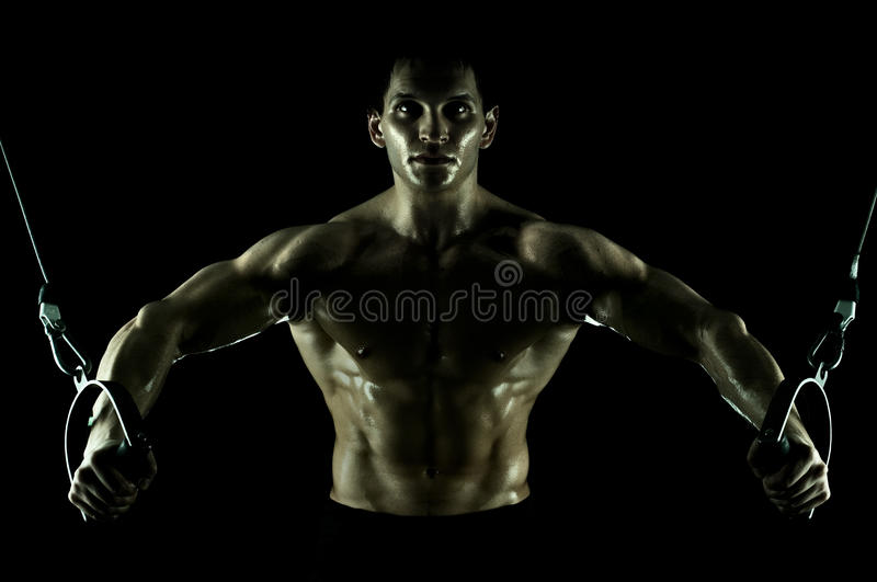 Download Sport guy stock photo. Image of horizontal, execute, athlete - 20179416