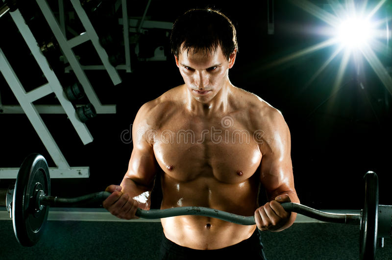 Download Sport guy stock photo. Image of athletic, power, beauty - 25896582