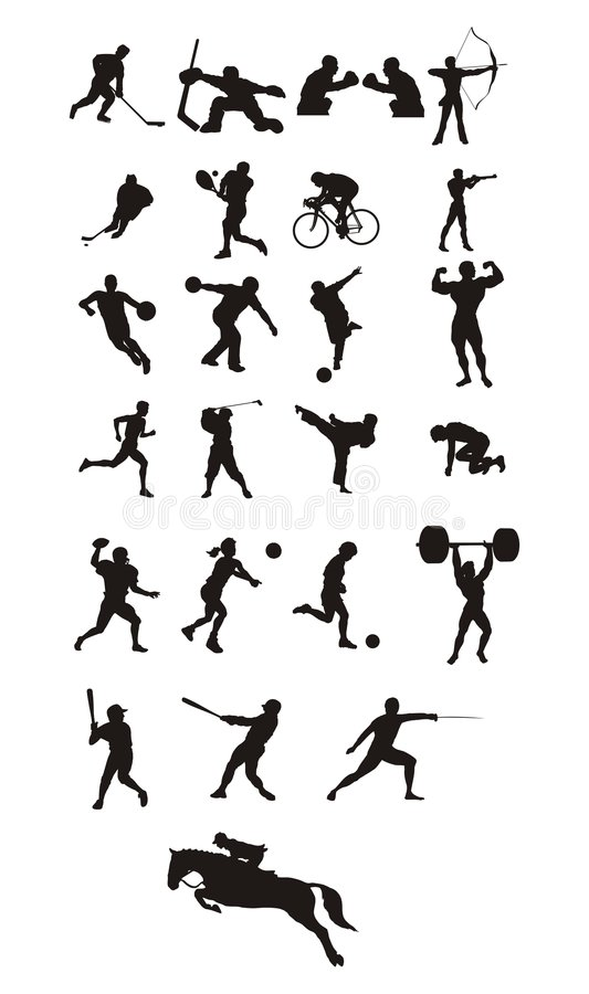 Free Sport Icons Royalty Free Stock Photos - 1197528