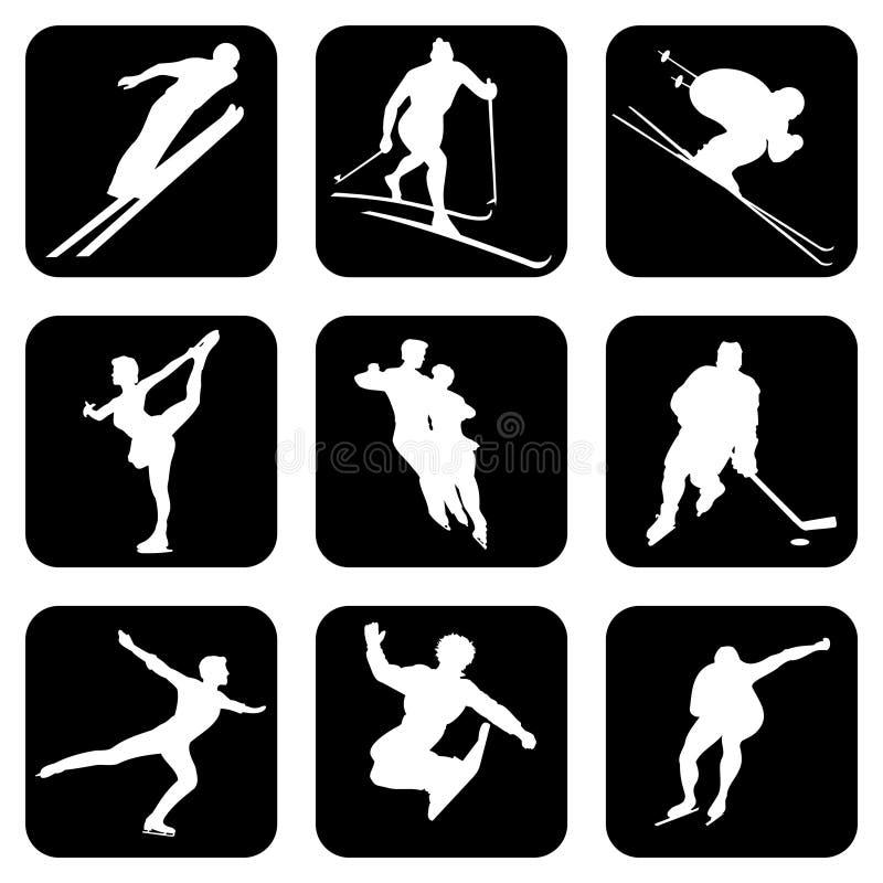 Sport_icons vector illustratie