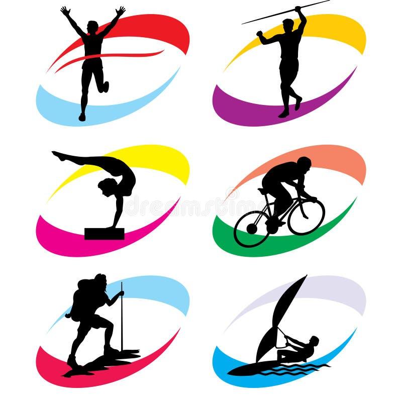 Download Sport icons stock vector. Illustration of sport, black - 14092428