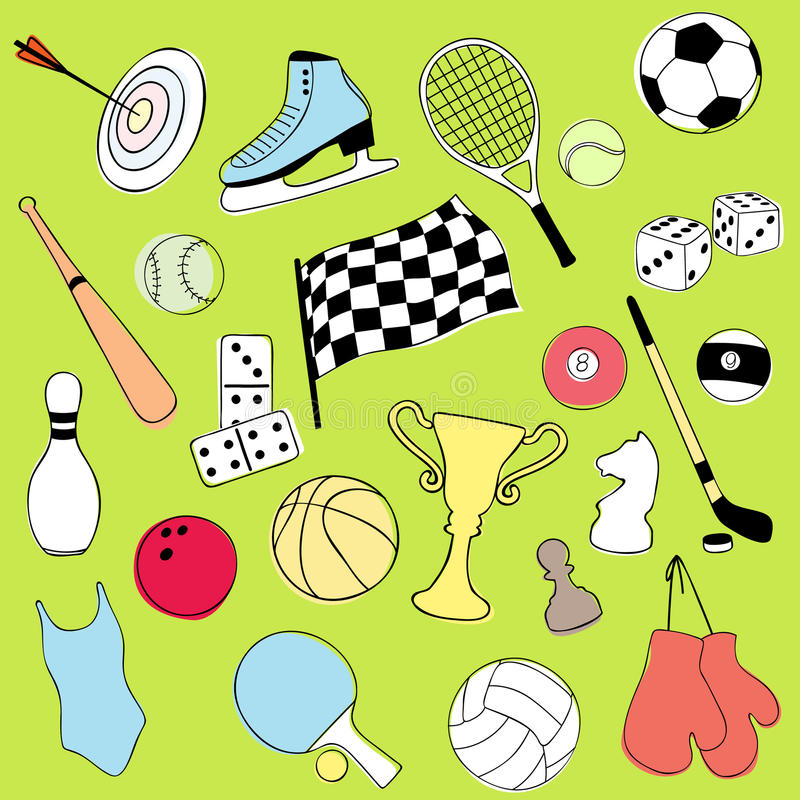 Download Sport Icons Stock Photo - Image: 14267960