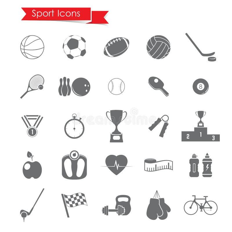 Sport icons stock illustration