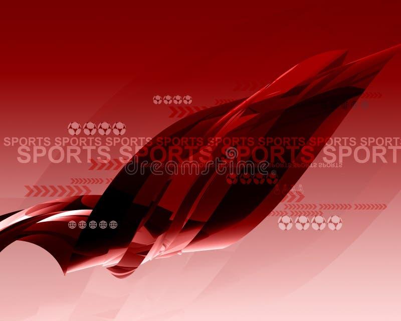 Sport Idea001 stock abbildung