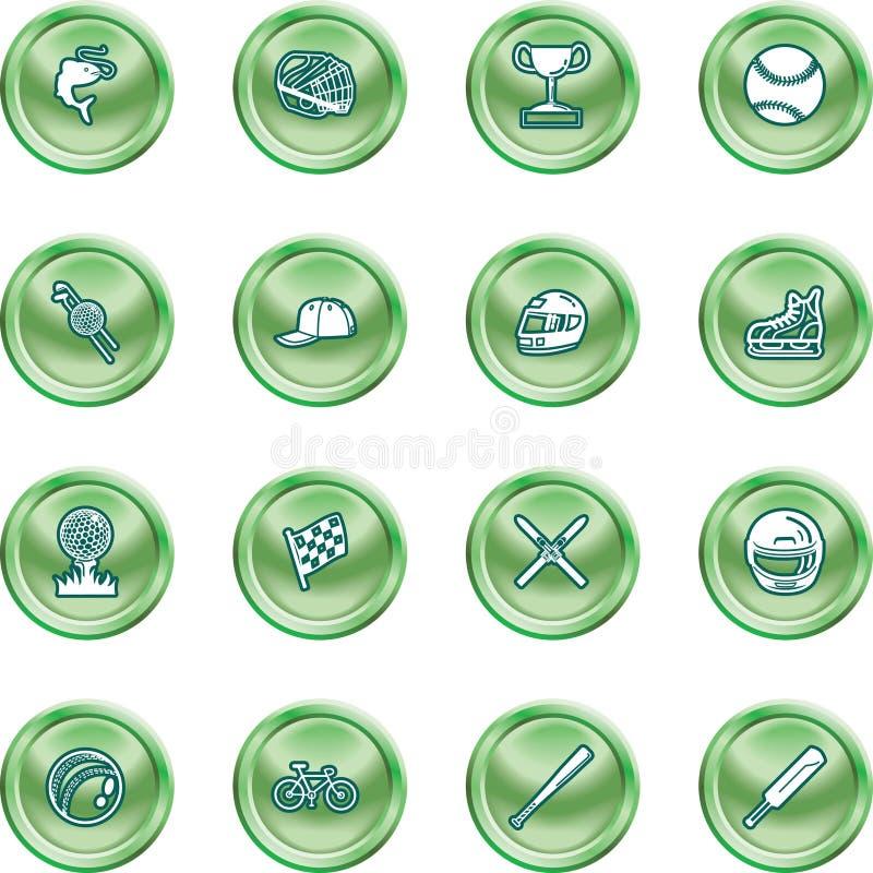 Sport-Ikonen-Set vektor abbildung