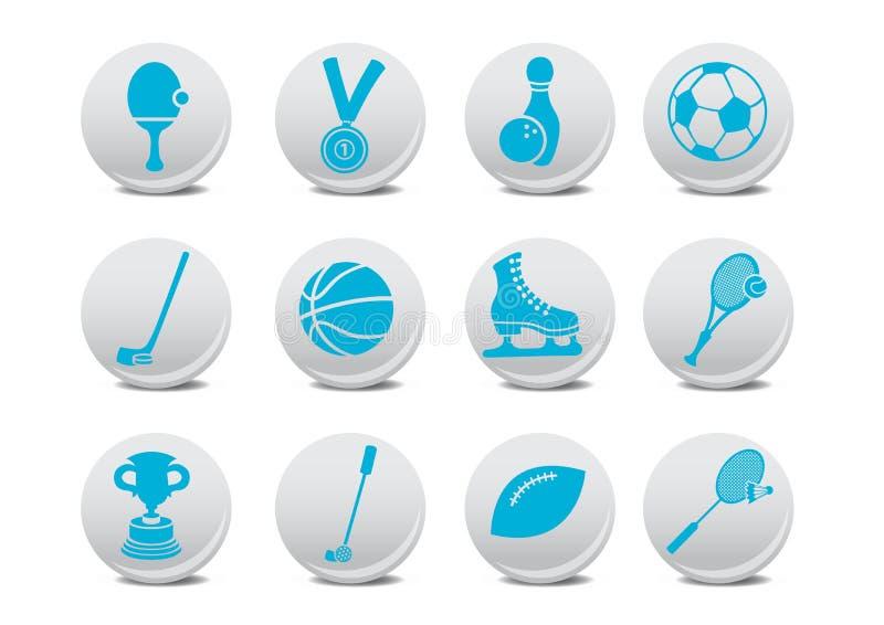 Sport ikony ilustracja wektor