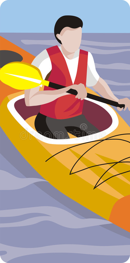 Download Sport illustration series stock illustration. Image of canoe - 2343439
