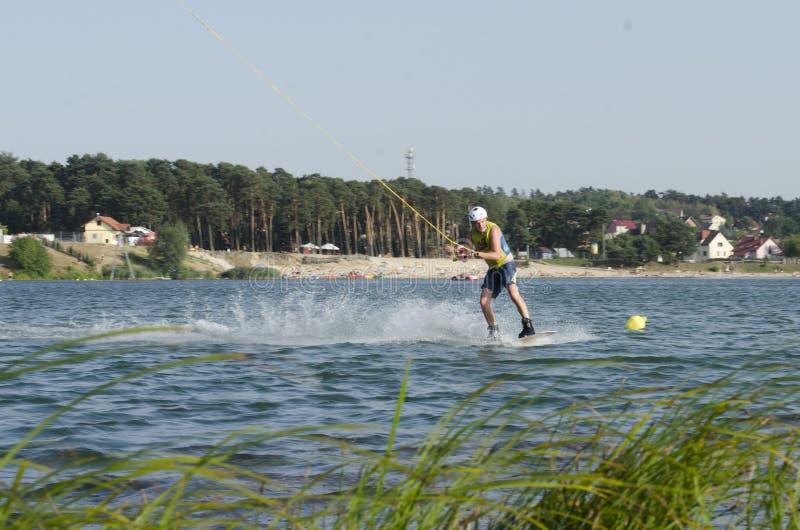 Sport im Wasser stockfotos