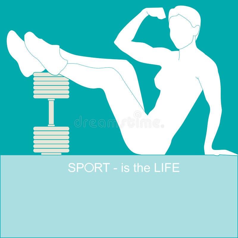 Sport - jest życie ilustracji