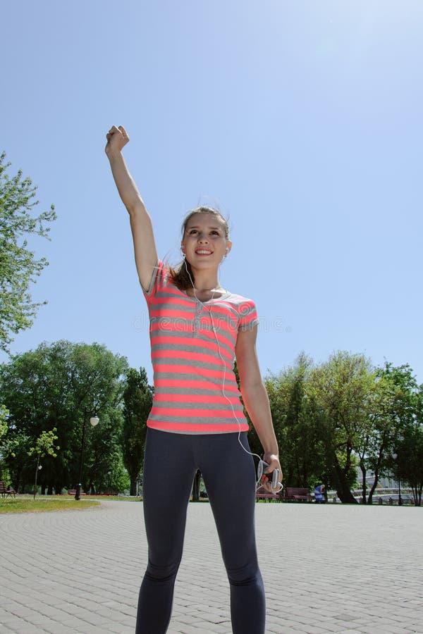 Sport kobieta trenował zdjęcia stock