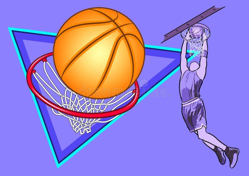 Sport koszyk?wka obraz royalty free