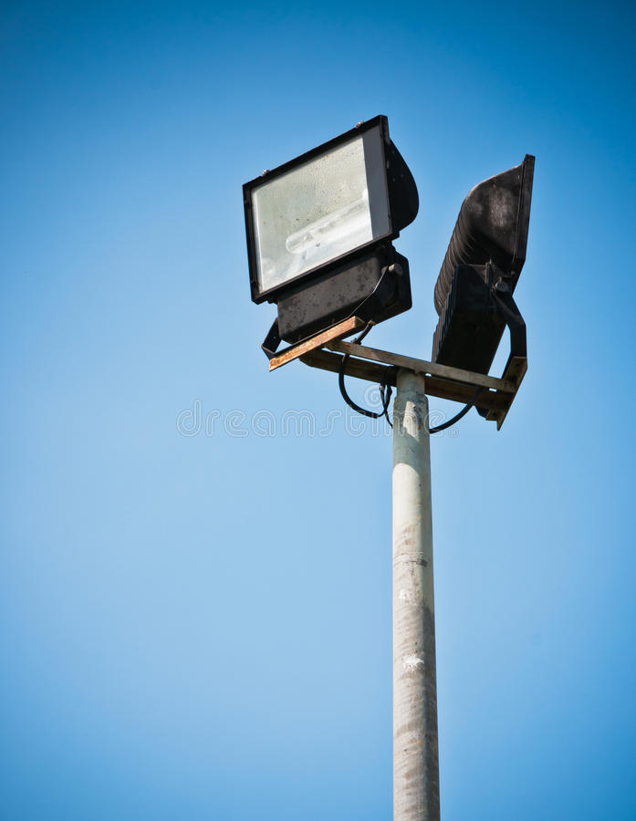 Download Sport light and blue sky stock photo. Image of nobody - 24688018