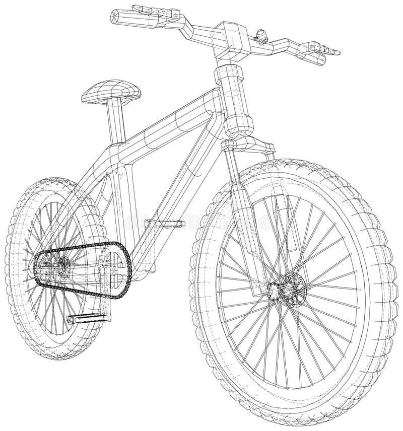 karikatur fahrrad stock illustrationen vektors  klipart