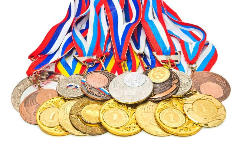 Sport-Medaille stockfotos