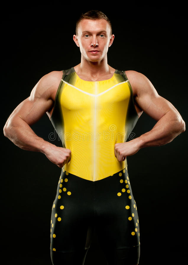 Sport model stock images