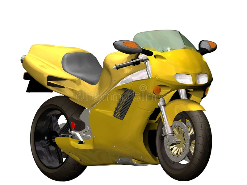 Download Sport motorcycle stock illustration. Image of cycle, speed - 2593787