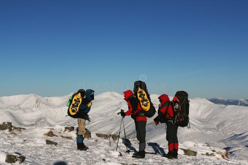 sport na śnieg na zimę zdjęcia stock