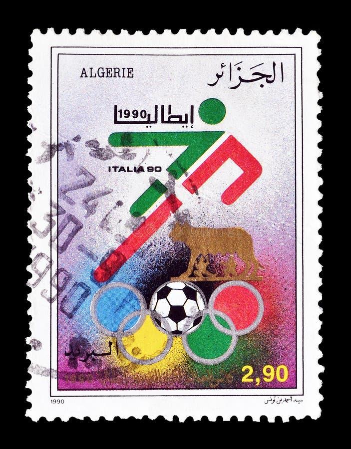 Sport na znaczkach pocztowych zdjęcie royalty free