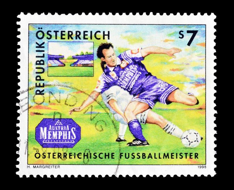 Sport na znaczkach pocztowych obrazy stock