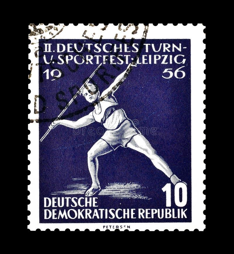 Sport na znaczkach pocztowych zdjęcia royalty free