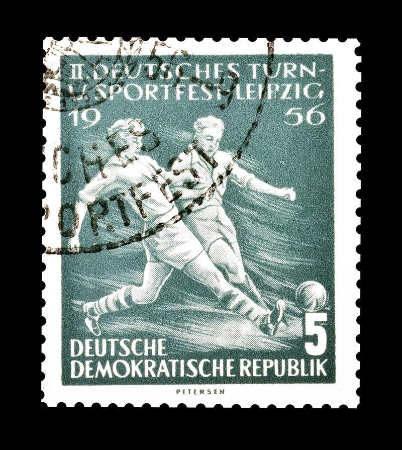 Sport na znaczkach pocztowych zdjęcia stock