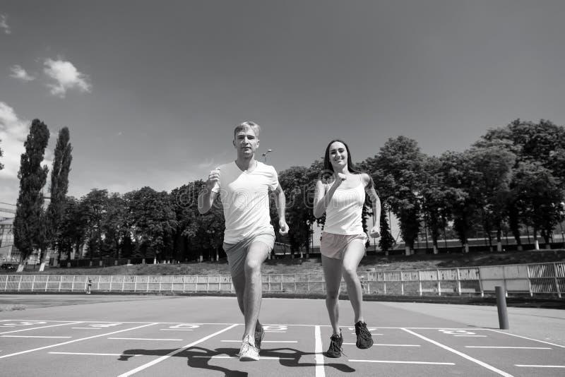 Sport och sund kondition arkivbild