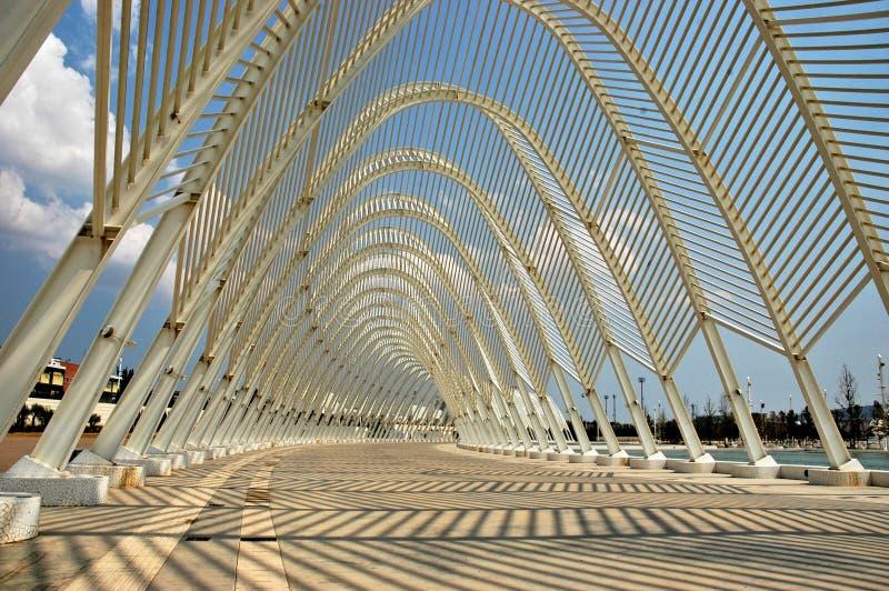 Sport olimpici di Atene complessi immagini stock