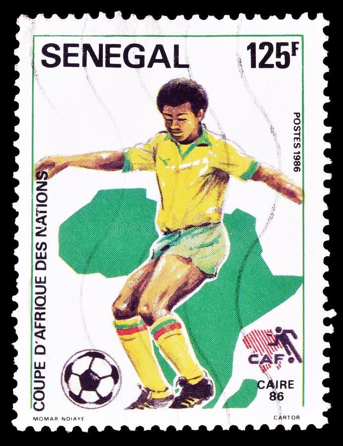 Sport op postzegels royalty-vrije stock foto's