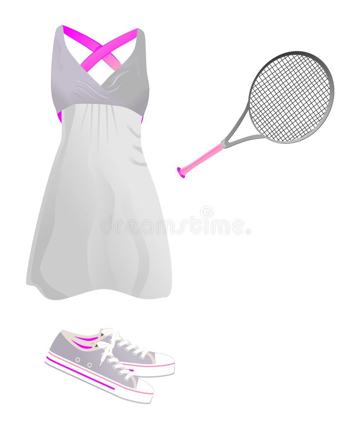 Download Sport outfit stock illustration. Illustration of cotton - 18083276
