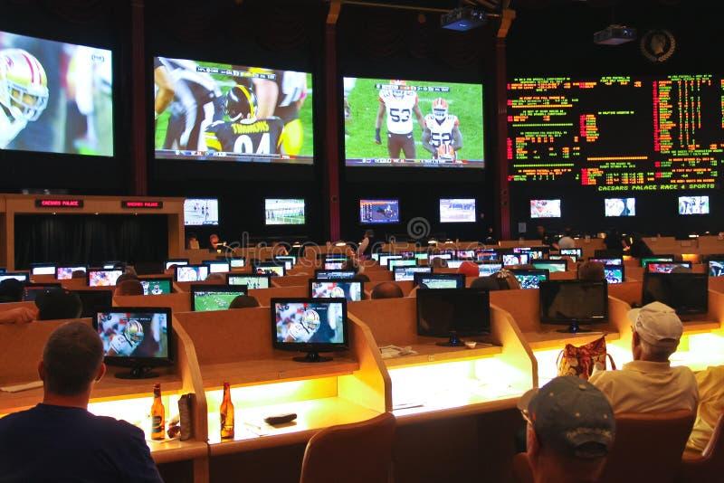 Sport pariant à Caesar's Palace   à Las Vegas photo stock
