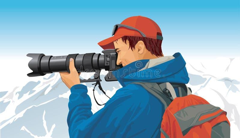 Sport photographer royalty free stock image